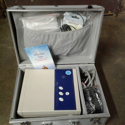 Detox Foot Spa w/ Belt Cell Ion Cleanse Bath Infrared Chi