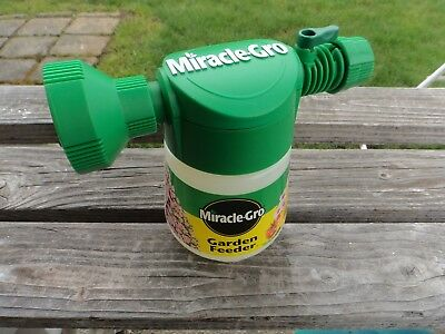 Vintage Miracle Gro Garden And Lawn Feeder Sprayer Miracle Grow