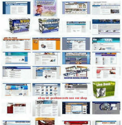 1000 plus Turnkey Websites & 300+ PHP Scripts With Resell Rights
