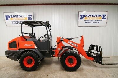2017 Kubota R530 4Wd Wheel Loader, Orops, Warranty And Only 342 Hours!