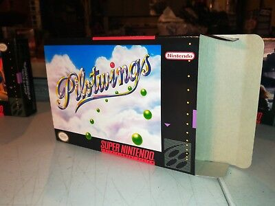 Pilotwings Box Only SNES Super Nintendo Replacement Box/Art Case ! Pilot wings