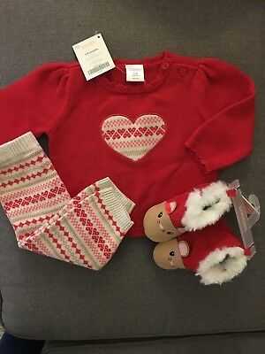 "Gymboree ""fair isle"" Outfit With Shoes"