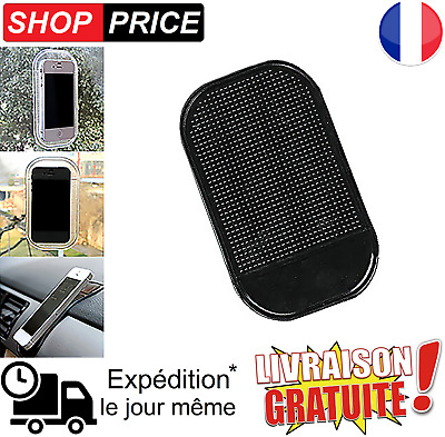support tapis tableau de bord voiture silicone antid rapant pour t l phone gps eur 2 05. Black Bedroom Furniture Sets. Home Design Ideas