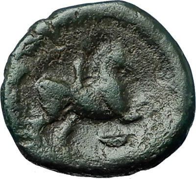 Philip II 359BC Olympic Games HORSE Race WIN Macedonia Ancient Greek Coin i68342