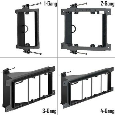 1/2/3/4 Gang Nail-On Low Voltage Mounting Bracket Wall Plate New Construction