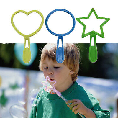 Bubble Wand Colorful Tool Bubble Maker Tool for Children Playing Boys Girls Kids