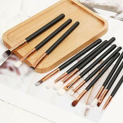 12x Pro Makeup Brushes Set Foundation Powder Eyeliner  Lip EyeshadowBrush Tool