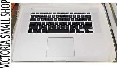 Palmrest with US Keyboard and Trackpad For Macbook Pro  A1398 2013 Mid 2014