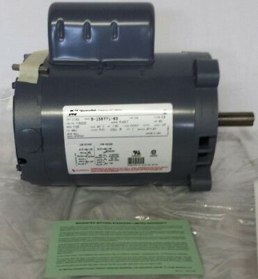 Magnatek C152 Electric Motor NEW 1725 RPM 115/230 Volt 1/4 HP Made in the USA