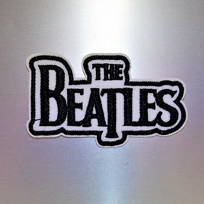 The Beatles Patch — Iron On Badge Embroidered Motif — Music Band Rock Retro