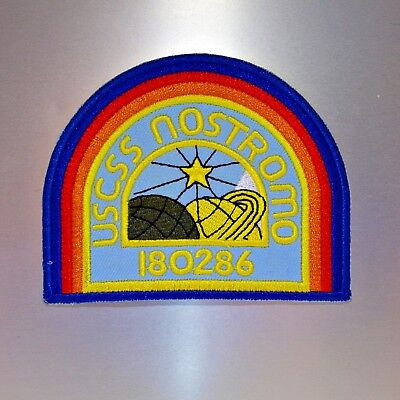 USCSS Nostromo Patch — Iron On Badge Embroidered Motif — Alien Predator 180286