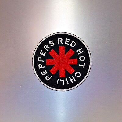 Red Hot Chili Peppers Patch — Iron On Badge Embroidered Motif — RHCP Chilli Band