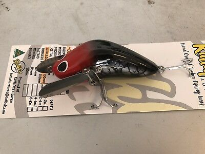 Ruthless Creeper 100mm Murray Cod Surface Lure Aussie Made