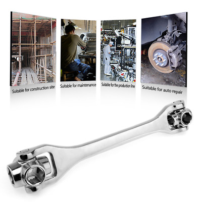 Lord Of The Wrench Homieshome 8 in 1 Double Head Spanner Socket Wrench