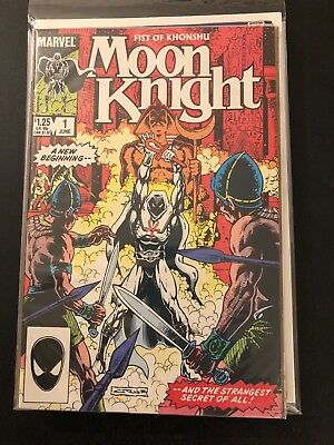 Fist of Khonshu Moon Knight 1 High Grade Marvel Comic Book