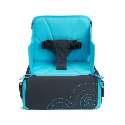 Munckin Travel Booster Seat Baby Child Safety Foldable Portable Adjustable