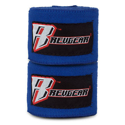 Revgear Hand Wraps 4.5M Blue Boxing Kickboxing Muay Thai Striking MMA Protection