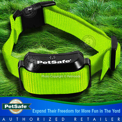 PetSafe YardMax Dog Fence Rechargeable Collar w/ Lime Green Strap PIG00-11116