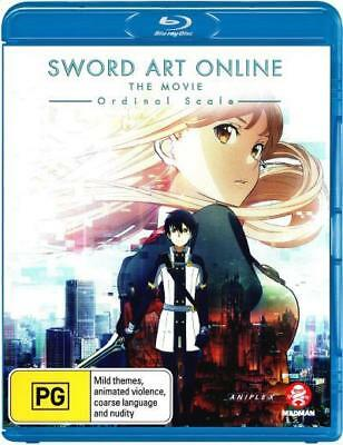 Sword Art Online The Movie Ordinal Scale Blu-ray Region B New!