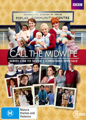 Call The Midwife Season 1 - 7 Box Set DVD R4 New!!!