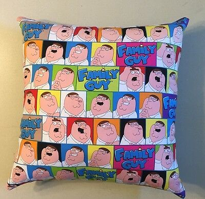 Awesome New 15 X 15 Family Guy Theme Complete Pillow - Great Collectors Gift!