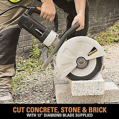 Electric Circular Saw Portable Concrete Cutter Brick Diamond Blade Construction