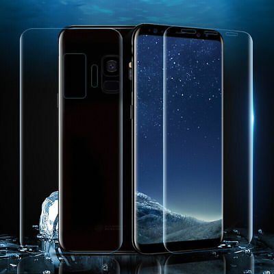 For Samsung Galaxy S8 S9 / S9 Plus Soft Full Cover Front Back TPU Protector Film
