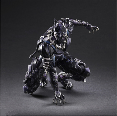 Play Arts Marvel's The Avengers Black Panther Action Figur Sammeln Spielzeug PVC