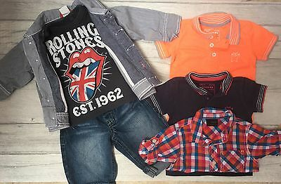 Baby Boy Summer Holiday Party Smart Outfit Set Bundle NEXT H&M 3-6m 8KG
