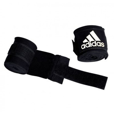 Adidas Hand Wraps AIBA Approved Black 4.5M Boxing Amateur Approved