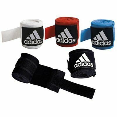 Adidas Hand Wraps 2.5M Boxing Striking Black Red Blue White
