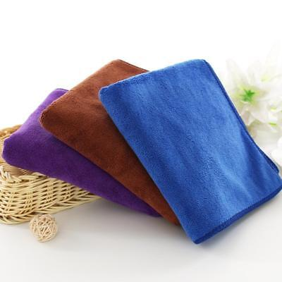 10x Microfiber Cleaning 20*20cm Car Detailing Cloths Wash Cleaner Thick 4 Color