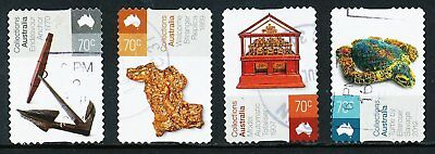 Australian 2015 Collections Australia, set of 4 S/A stamps, used