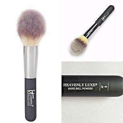 iT Cosmetics #8 Heavenly Luxe Wand Ball Face Airbrush Powder Makeup Brush NEW