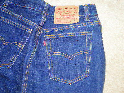 VINTAGE  Levi's 501 No Big E   womens  Denim Jeans W 28 X 32