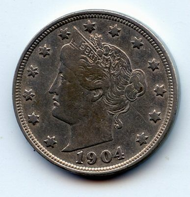 1904-p Liberty head Nickel (SEE PROMOTION)