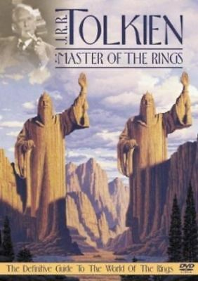 J.R.R. Tolkien: Master of the Rings (DVD, 2004) BRAND NEW! FACTORY SEALED!