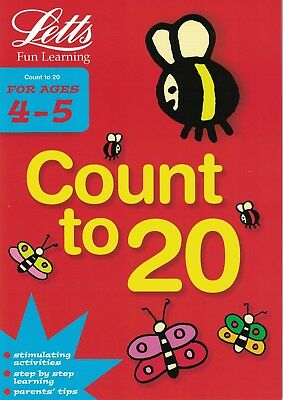 Children's Letts Fun Learning Activity Book: Count To 20 - Age 4-5