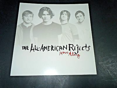 THE ALL AMERICAN REJECTS~Move Along~Promo Poster Flat~Double Sided~12x12~NM~2005