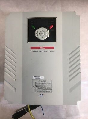 LS Inverter SV075iG5A-4 Variable Frequency Drive iG5A 12.2KVA 16.0A 0.1-400Hz