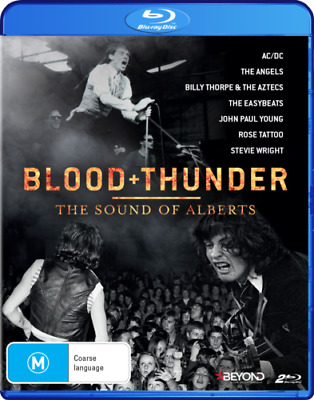 BLOOD + THUNDER The Sound Of Alberts BLU-RAY MUSIC AC/DC ANGELS BRAND NEW RB