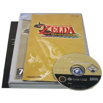 The Legend of Zelda The Wind Waker GameCube GC Game Cube Wii Spiel OVP