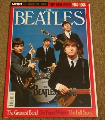 Mojo The Collectors Series The Red Issue 1962-1966 The Beatles Magazine