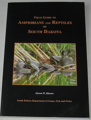 Field Guide To Amphibians And Reptiles Of South Dakota With Cd