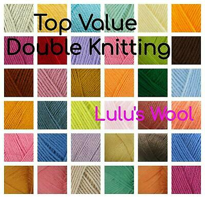 Double Knitting Wool 100g *Free Postage*** BUY 3 get 5% OFF**BUY 5 get 10% OFF**