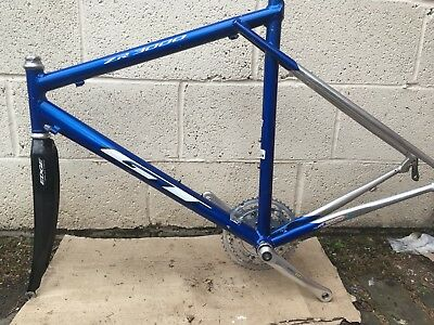 GT ZR 3000 Road Bike Frame With GT edge Carbon Forks - £53.00 ...