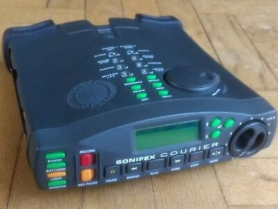 1602b Sonifex Courier Portable Recorder With Case Video Production & Editing