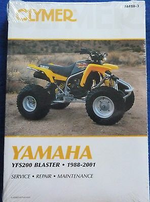 yamaha blaster clymer workshop manual 14 00 picclick uk rh picclick co uk yamaha blaster 200 service manual yamaha blaster workshop manual
