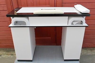 Manicure Table Nails Table Vbh3   White/black   With White  Top  Marble  Color