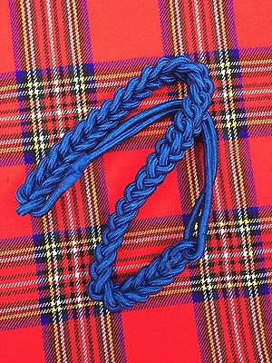 New British Army Shoulder Cord Silk Blue Color/Officer Shoulder Cord/Air Force